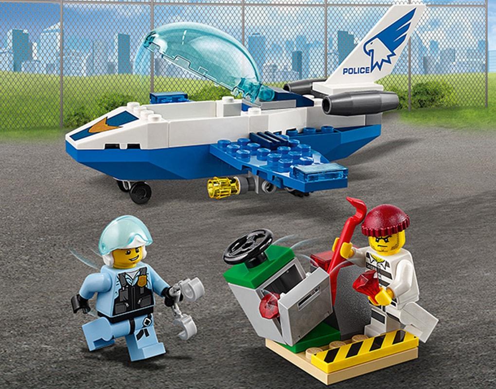 BrickMagic.Asia | 60206 LEGO® City Sky Police Jet Patrol