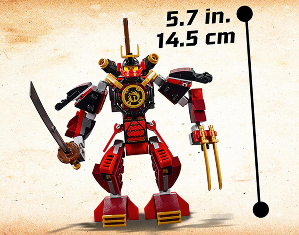 LEGO Mini Figure Nuckal from set 70665-1 Ninjago Samurai Mech