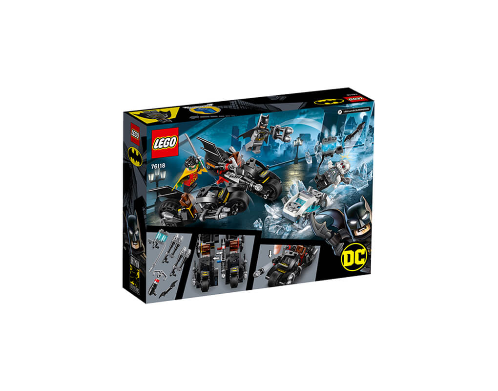 - Figur Minifig Batman Mr Robin Freeze 76118 76118 LEGO Super Heroes